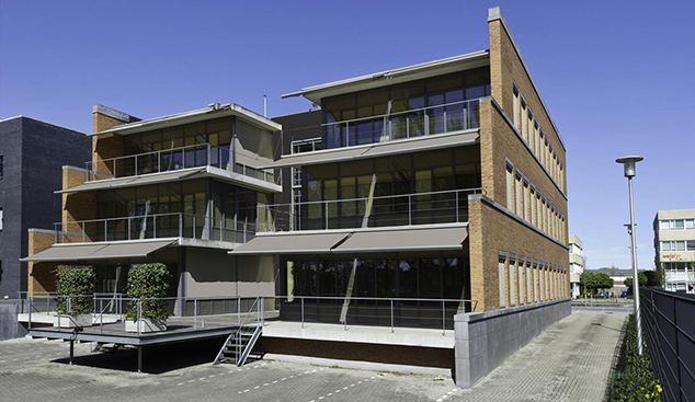 achterkant q house Eindhoven